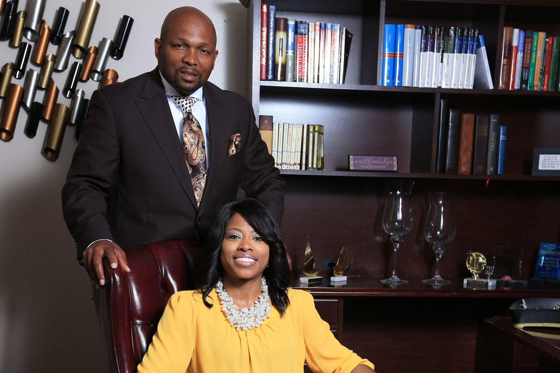 Bishop and First Lady